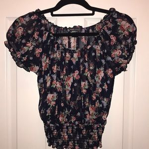 Wet Seal Tops - Floral print blouse